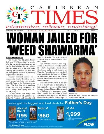 Caribbean Times 30th Issue - Wednesday 15th June 2016