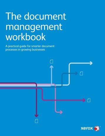 The document management workbook