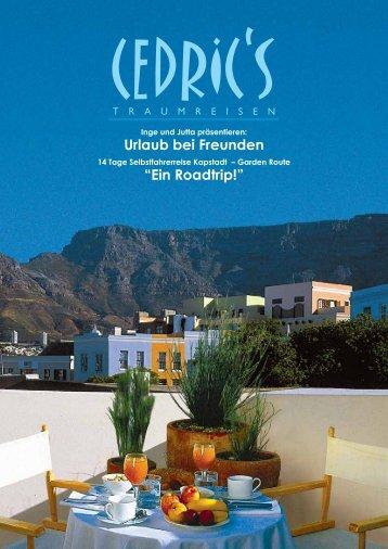 """""""Ein Roadtrip"""" - Selbstfahrerreise Kapstadt - Garden Route"""