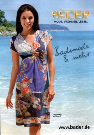 Каталог Bader Bademode&Mehr лето 2016. Заказ одежды на www.catalogi.ru или по тел. +74955404949