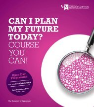 CAN I PLAN MY FUTURE TODAY? COURSE YOU CAN!