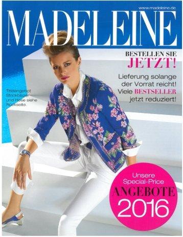 Каталог Madeleine лето 2016. Заказ одежды на www.catalogi.ru или по тел. +74955404949
