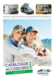 Catalogue Loisireo ACCESSOIRES 2016+