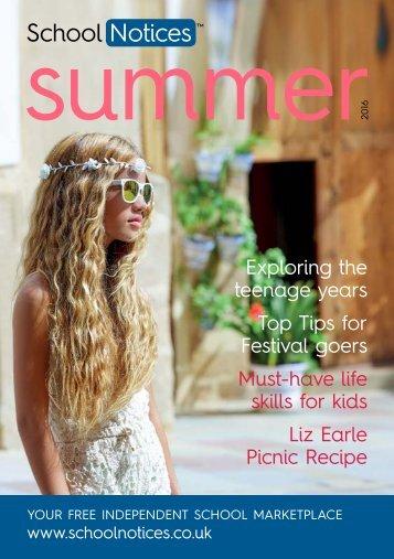 School Notices Termly Magazine Summer 2016