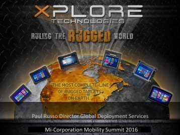 Mi-Corporation Mobility Summit 2016