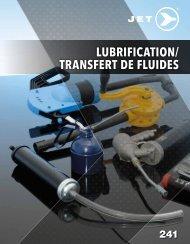 Jet - Lubrification & Transfert de fluides