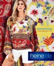 Каталог Heine Inspirations весна-лето 2016. Заказ одежды на www.catalogi.ru или по тел. +74955404949
