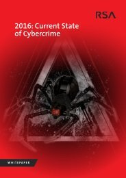 2016 Current State of Cybercrime