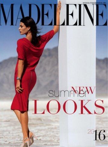 Каталог Madeleine New Looks лето 2016. Заказ одежды на www.catalogi.ru или по тел. +74955404949