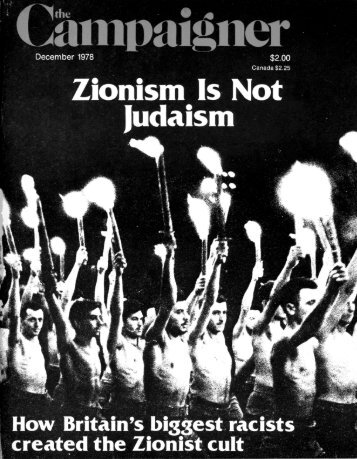 How Britain's Biggest Racists (and Financiers) Created Zionist Cult