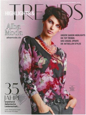 Каталог Alba Moda весна-лето 2016. Заказ одежды на www.catalogi.ru или по тел. +74955404949