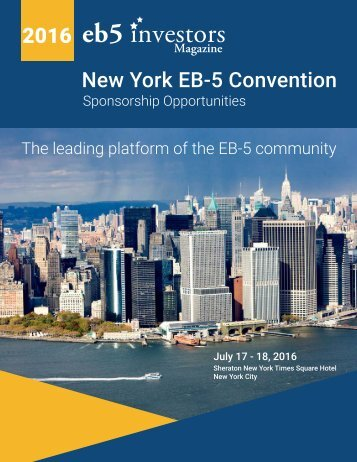 2016 New York EB-5 Convention