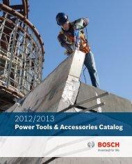 Bosch - 2012 Catalogue