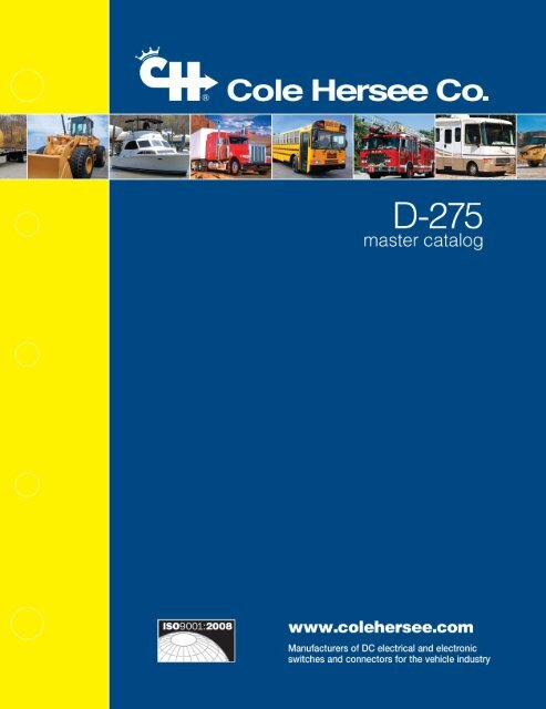 Cole-Hersee - D-275-MasterCatalog