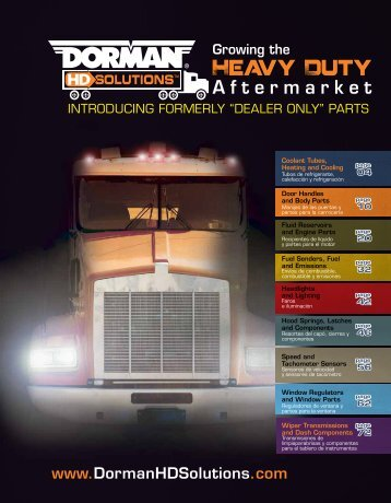 Dorman - Heavy Duty Catalogue