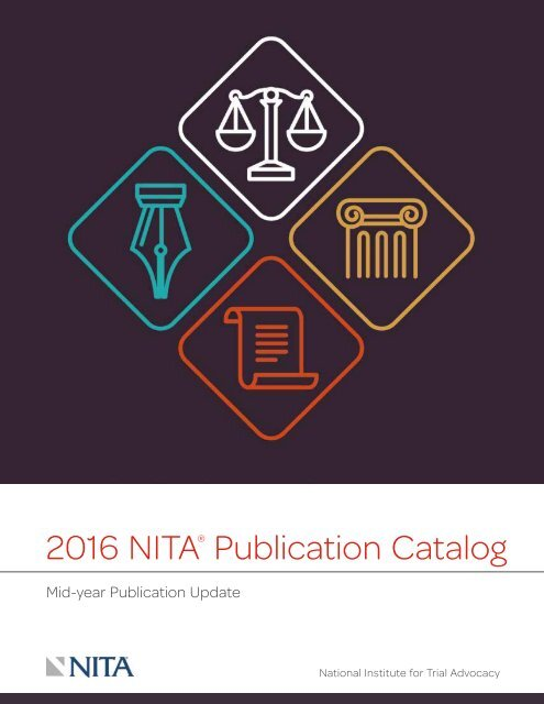 2016 NITA Publication Catalog