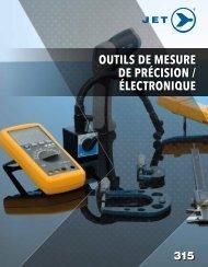 Jet - Outils de mesure de précision/électronique
