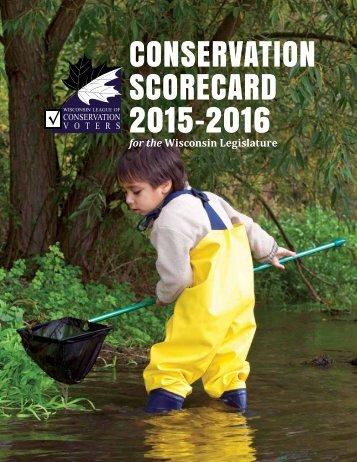 CONSERVATION SCORECARD 2015-2016