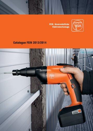 Fein Tools - Catalogue 2013-2014