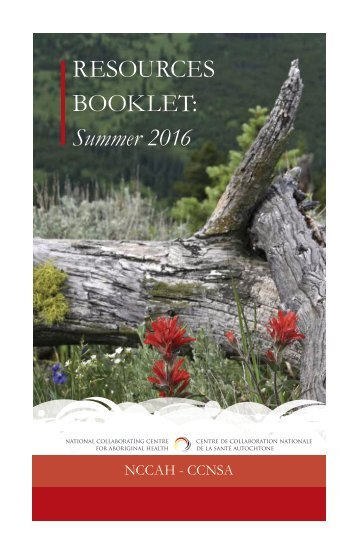 RESOURCES BOOKLET Summer 2016
