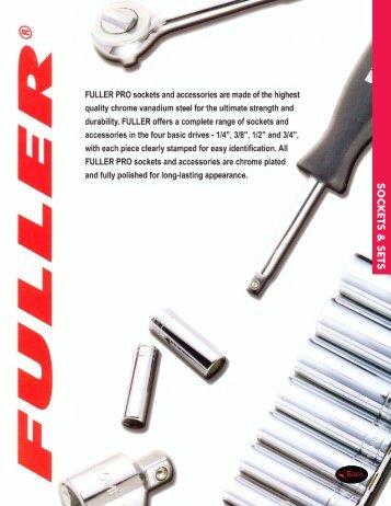 Fuller - Douilles