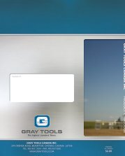 Gray Tools - Catalogue d'outils - édition canadienne