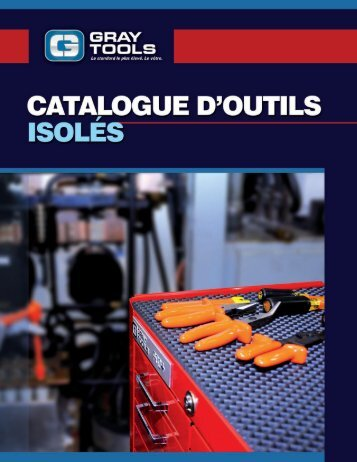 Gray Tools - Catalogue d'outils isolés 2014 - FR