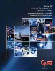 Grote - Catalogue d'accessoire 2014