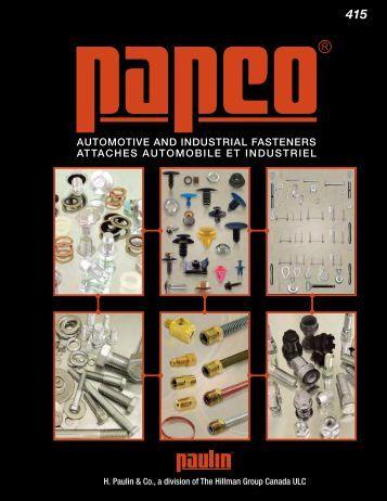 H. Paulin - Attaches automobile et industriel