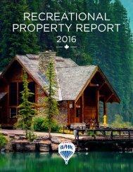 RECREATIONAL PROPERTY REPORT