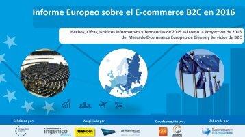 Informe Europeo sobre el E-commerce B2C en 2016