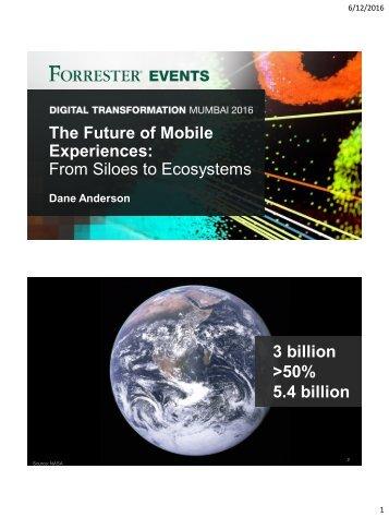 3 billion >50% 5.4 billion