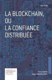 La blockchain ou la confiance distribuée