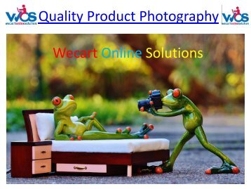 Quality Product Photography | E-commerce product photography