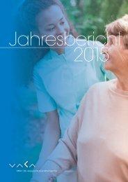 VAKA Jahresbericht 2015