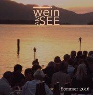 Wein am See Folder 2016