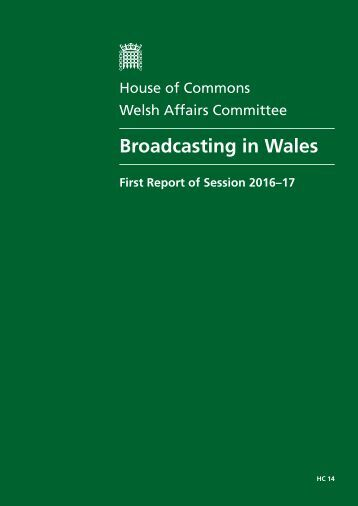 Broadcasting in Wales