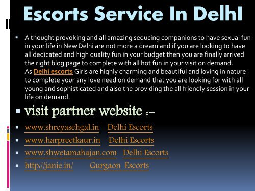 Provoking and Seducing Acts with Delhi Escorts