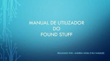 Manual de Utilizador - Grupo II