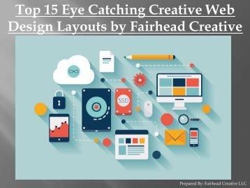 Top 15 Eye Catching Creative Web Design Layouts by Fairhead Creative