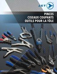 Jet - Pinces, ciseaux coupants et outils pour la tôle