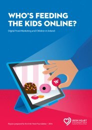 WHO'S FEEDING THE KIDS ONLINE?