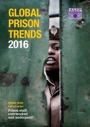 GLOBAL PRISON TRENDS 2016