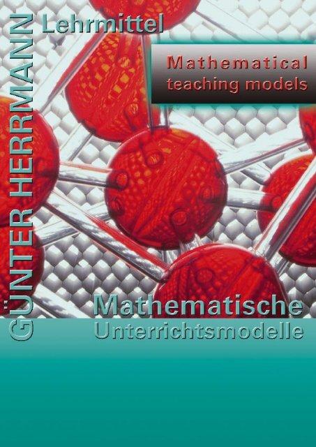 Mathematische Unterrichtsmodelle