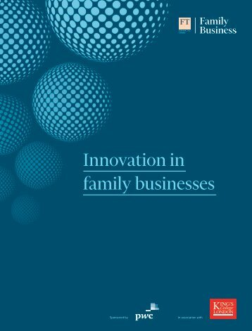 Innovation in family businesses