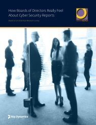 How Boards of Directors Really Feel About Cyber Security Reports