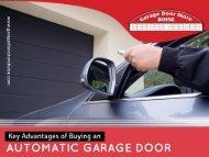 The Advantages of Garage Door Repair in Boise