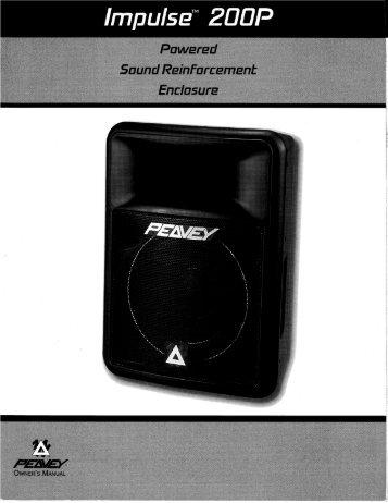 Impulse 200P Powered Sound Reinforcement Enclosure - Peavey