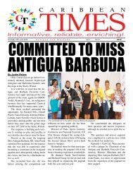 Caribbean Times 31st Issue - Thursday 16th June 2016