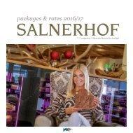 Hotel Salnerhof - Winterpreisliste 16/17